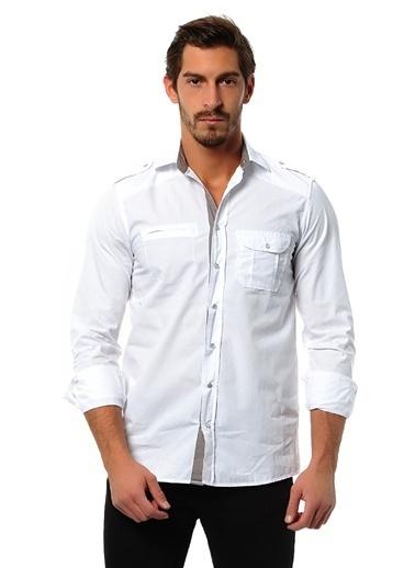 T-Box Gömlek Beyaz